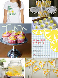 next stop another baby lemonade themed baby shower pucker up