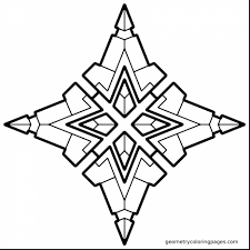 fabulous design coloring pages adults with geometric coloring