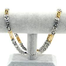fashion chain necklace images Fashion men necklace crude stainless steel jewelry chain jpg