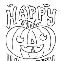 printable happy halloween coloring pages bootsforcheaper