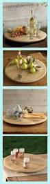 lazy susan home decor wine barrel lazy susan delivers dishes right to you with a simple
