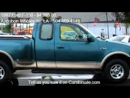 1997 ford f150 4 6 engine for sale 1997 ford f 150 lariat 3dr extended cab stepside sb for sale