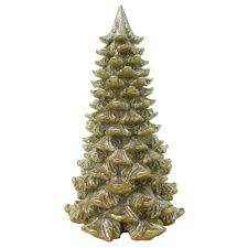 16 in gold glitter tree kx1063 g the home depot