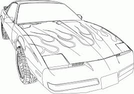 palm tree coloring sheets super fast cars race furious