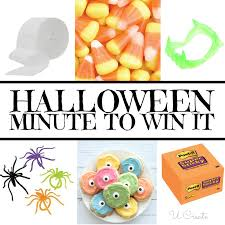 Halloween Party Ideas For Tweens Halloween Minute To Win It Games U Create