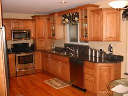 Hickory Kitchen Cabinets Alder Kitchen Cabinets On Dark Floor Innovative Home Design