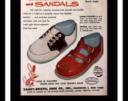 Banister Shoes Vintage Shoe Ad Etsy