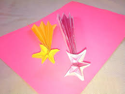 falling star shooting star origami paper crafts for kids youtube