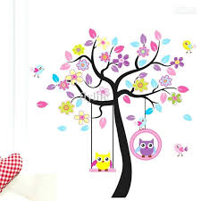 wall ideas owl bedroom wall stickers owl wall art from hobby