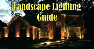 Landscape Lighting Volt 12 Volt Led Landscape Lighting Kits Lighting Led 6 Light Landscape