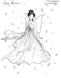 disney princess fairy coloring pages to kids 28337