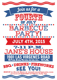 printable 4th of july invitations precise bees
