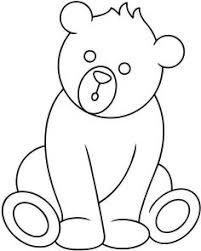 teddy bear coloring pages pictures easy print