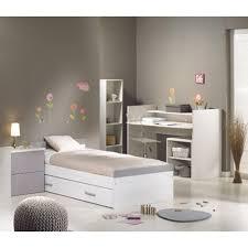 chambre contemporaine blanche couleur lit complete pour taupe et design commode chambre
