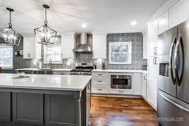 white kitchen cabinets grey island white shaker grey island cabinets kitchen remodel
