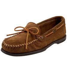 minnetonka wildleder mokassin low shoe braun brow men u0027s shoes