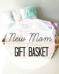Gifts For New Moms by New Mom Gift Basket The In The Red Shoes