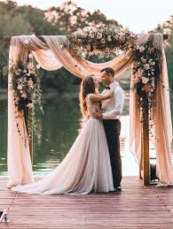 wedding arch log wedding arch decoration ideas with flowers and