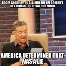 Ray Rice Memes - the funniest roger goodell memes worldwideinterweb