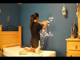 home decor inspiration tree made out of christmas lights youtube