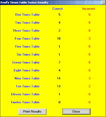 how to teach times tables stu s talking times tables tester