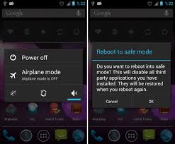 how to take safe mode on android dealing with system problems in android safe mode factory reset