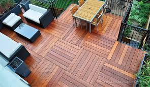 composite and wood decking