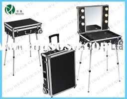 Rolling Makeup Case With Lights Professional Makeup Cases Uk Images
