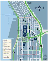Seattle Downtown Attractions Map by Seattle City Guide Itinerant Fan