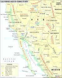 Us Mexico Border Map by Map Us Mexico Border Evenakliyat Biz