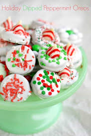 holiday dipped peppermint oreos how to tips mom on timeout