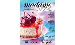 magazine cuisine en ligne le groupe figaro s investit dans la thématique cuisine avec madame