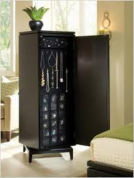 Bedroom Armoires Furniture Black Mirror Jewelry Armoire Black Bedroom Armoire