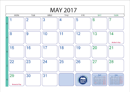 may 2017 printable calendar template printable 2017 calendar