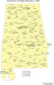 Alabama Maps Alabama Maps Education