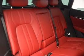 maserati levante interior back seat 2018 maserati levante s stock m1928 for sale near greenwich ct