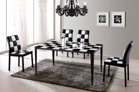Black And White Dining Room Ideas by Classic Closet Furniture White Dining Table And Chairs Dining