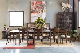 Thomasville Dining Room by Thomasville Ellen Degeneres Westwood Walnut Rectangular Dining