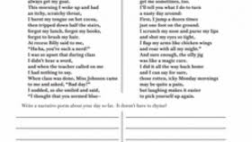 free creative writing worksheets for 3rd grade worksheets