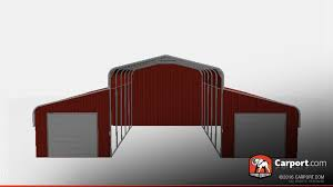 dimensions of one car garage carport com buy custom carports garages or metal buildings by photo