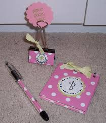 note and balpoint baby shower hostess gift ideas baby shower
