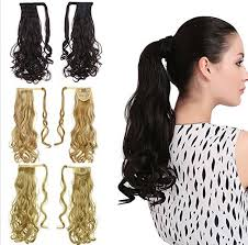 ponytail extensions remeehi wrap around ponytail extensions high ponytail clip in
