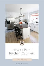 painting kitchen cabinets tutorial how to paint kitchen cabinets tutorial stagg design