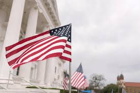 How To Properly Display The American Flag Texarkana Rotary Flag Project Texarkana Wilbur Smith Rotary