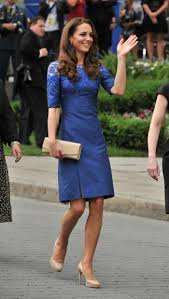 Kate Middleton Dresses Kate Middleton In Blue Dress At Freedom Of The City Ceremony In