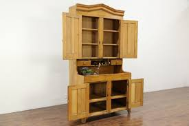 Pine Kitchen Pantry Cabinet Country Pine Primitive 1870 Antique Kitchen Pantry Cupboard U0026 Dry