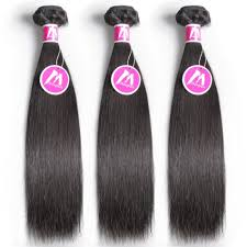 Inexpensive Human Hair Extensions by Cheap Human Hair Bundles Brazilian Weave Straight Human Hair