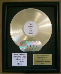 personalized record album gold record platinum record records album lp