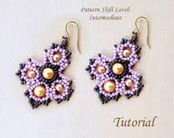 four beaded beads beading tutorial beadweaving pattern seed