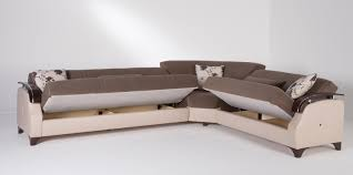 Sectionals Sofa Beds Trento Selen Brown Sectional Sofa By Sunset